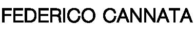 FEDERICO CANNATA logo web
